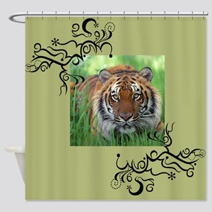 South China Tiger Shower Curtain