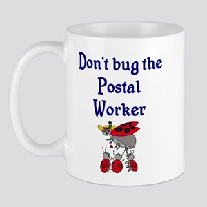 Postal Worker Ladybugs Mug
