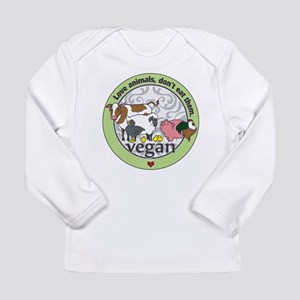 Love Animals Dont Eat T Long Sleeve Infant T-Shirt