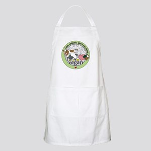 Love Animals Dont Eat Them Vegan Apron