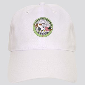 Love Animals Dont Eat Them Vegan Cap
