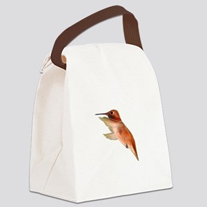 rufous hummingbird Canvas Lunch Bag