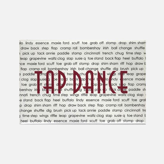 Tap Dance Rectangle Magnet (10 pack)