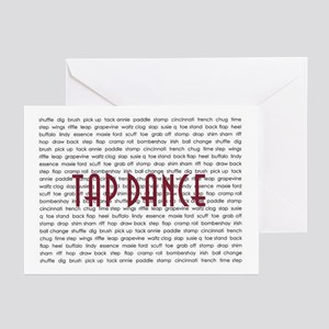 Tap Dance Greeting Cards (Pk of 10)