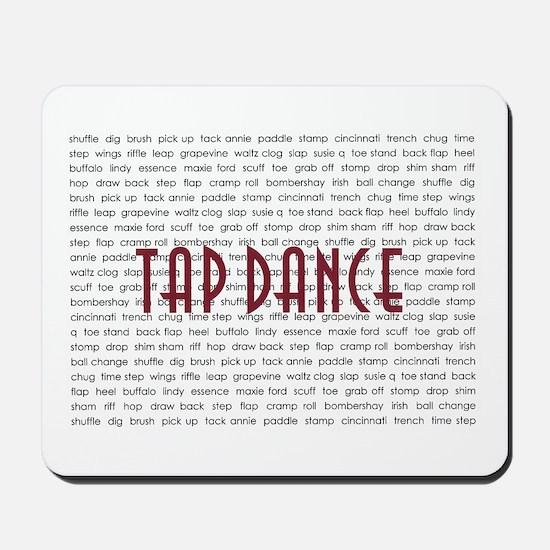 Tap Dance Mousepad
