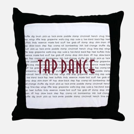 Tap Dance Throw Pillow