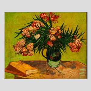 Van Gogh Vase With Oleanders And Books Posters