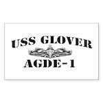 USS GLOVER Sticker (Rectangle)