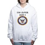 USS GLOVER Women's Hooded Sweatshirt