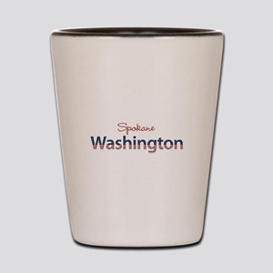 Custom Washington Shot Glass