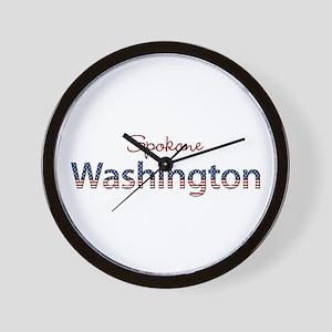 Custom Washington Wall Clock