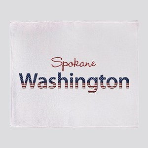 Custom Washington Throw Blanket