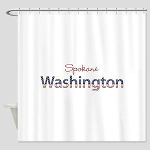 Custom Washington Shower Curtain