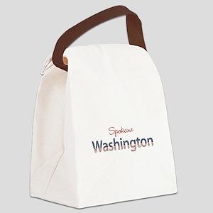 Custom Washington Canvas Lunch Bag