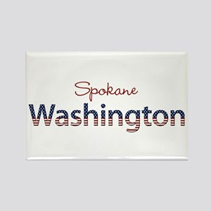 Custom Washington Rectangle Magnet