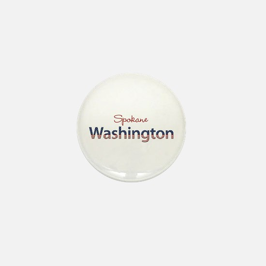 Custom Washington Mini Button