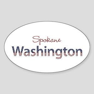 Custom Washington Sticker (Oval)