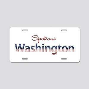 Custom Washington Aluminum License Plate