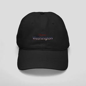 Custom Washington Black Cap