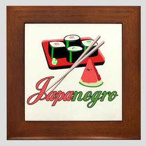 Japanegro Framed Tile