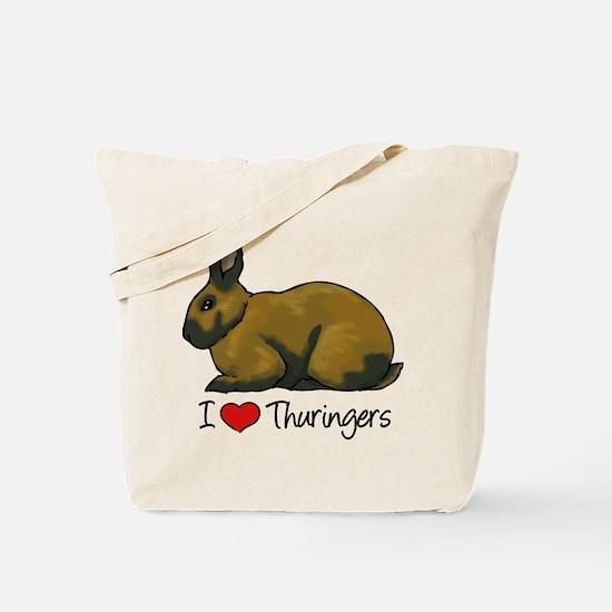 I Heart Thuringers Tote Bag