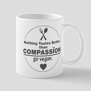 Vegan Nothing Tastes Better Than Compas Mug