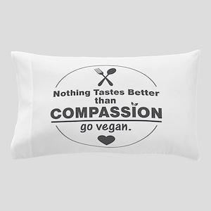 Vegan Nothing Tastes Better Than Compa Pillow Case
