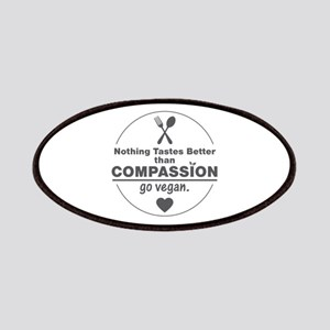 Vegan Nothing Tastes Better Than Compassion Patch