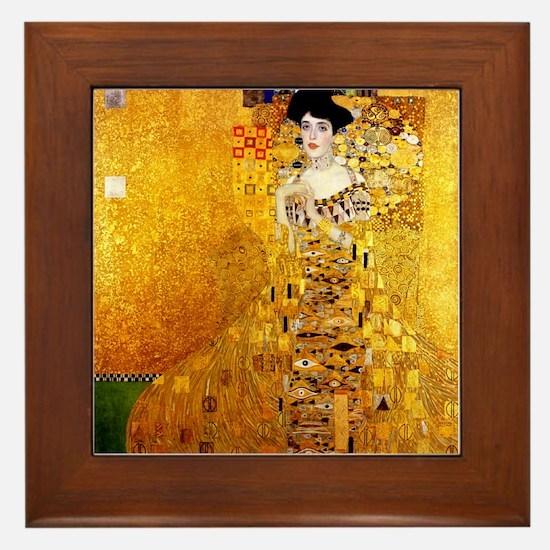 Gustav Klimt Portrait of Adele Bloch-Bauer Framed