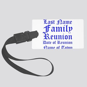 Family Reunion Luggage Tag