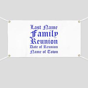 Family Reunion Banner