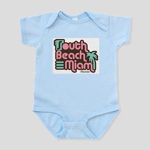 South Beach Miami Florida Infant Bodysuit
