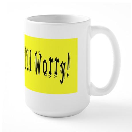 Worriers Anonymous Large Mug