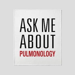 Pulmonology Throw Blanket