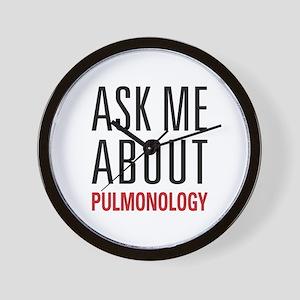 Pulmonology Wall Clock