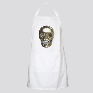 Chrome Skull Apron