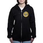 USS GRAY Women's Zip Hoodie