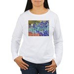 Van Gogh Blue Irises Long Sleeve T-Shirt