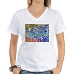 Van Gogh Blue Irises T-Shirt