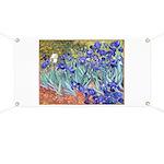 Van Gogh Blue Irises Banner