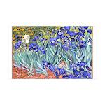 Van Gogh Blue Irises Wall Decal