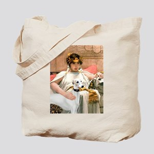 Cleopatria & her Whippet Tote Bag