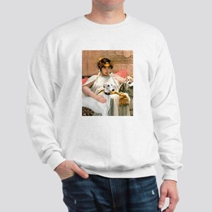Cleopatria & her Whippet Sweatshirt