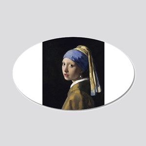 Jan Vermeer Girl With A Pearl Earring Wall Decal