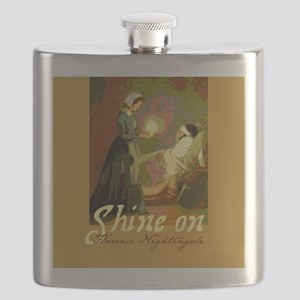 Florence Nightingale With Lamp Flask
