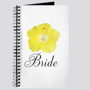 Yellow Hibiscus Bride Journal
