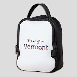 Custom Vermont Neoprene Lunch Bag