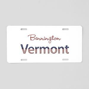 Custom Vermont Aluminum License Plate