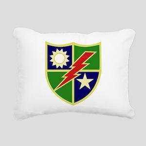 75th Ranger Regiment Rectangular Canvas Pillow