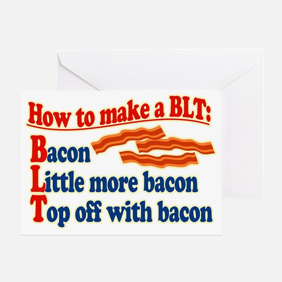 Bacon How To Make a BLT Greeting Card